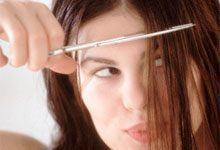 Coupez votre frange vous-même